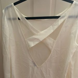 Tobi cross back top